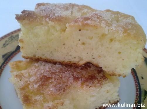 рецепт сахарного пирога