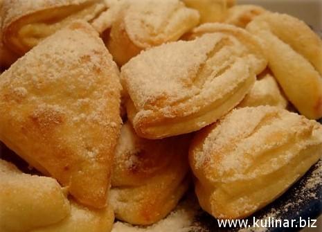 рецепт сырного печенья