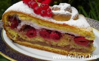 кулинарный рецепт пирога с вишнями