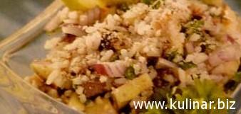 Рецепт салата со скумбрией