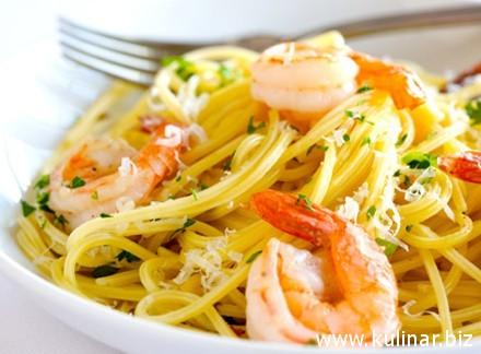 рецепты спагетти