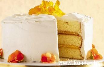 Рецепт цитрусового торта