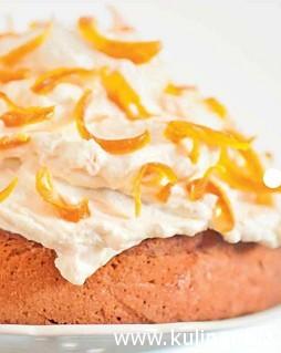 Апельсиновый пирог с лавандой