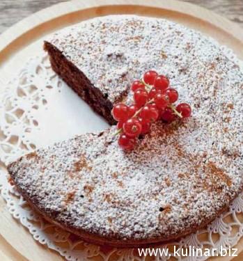 Шоколадный торт «Капрезе»