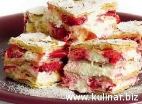Рецепт пирожного