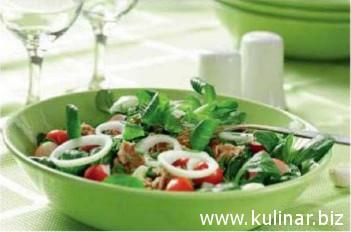 Дуэт салатов с бальзамической заправкой