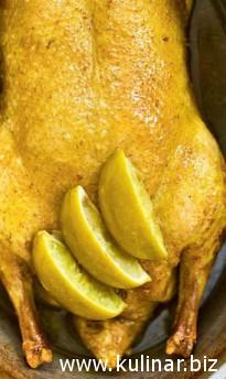 пряная утка - кулинарный рецепт