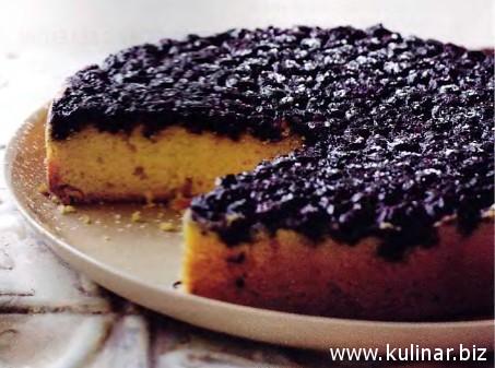 черничный бисквит рецепт
