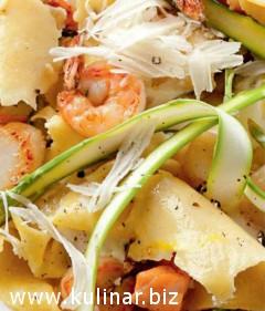 «Битая лазанья» с морепродуктами