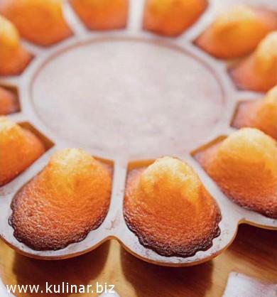 Пирожные мадлен от французской гостьи