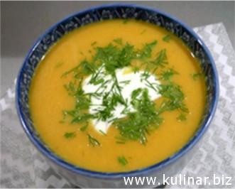 Охлажденный овощной суп