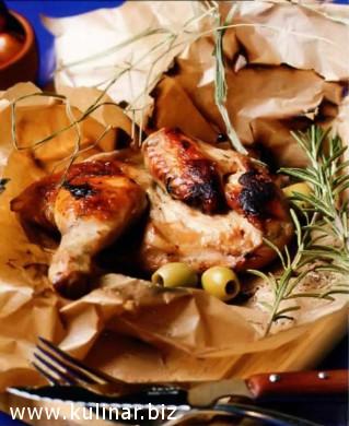 Цыпленок, маринованный в оливках