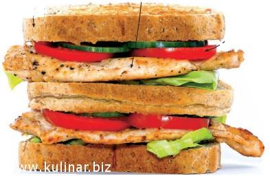 Делаем сендвіч полезним