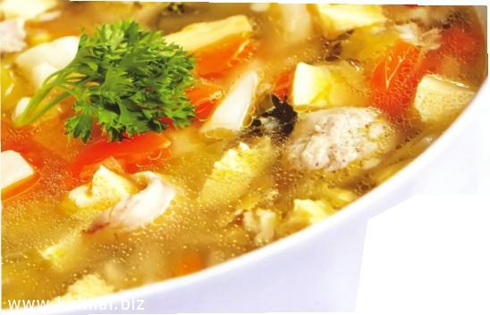 суп куриный с омлетом рецепт
