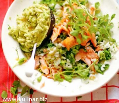 Простой суши-салат - кулинарный рецепт (фото)