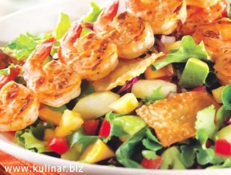 Рецепт салата с овощами