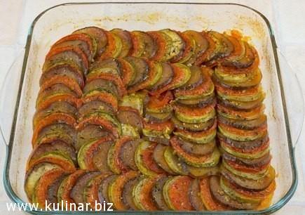 кулинарный рецепт - рататуй приготовление
