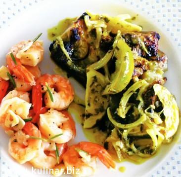 рецепт баклажаны с зеленым карри