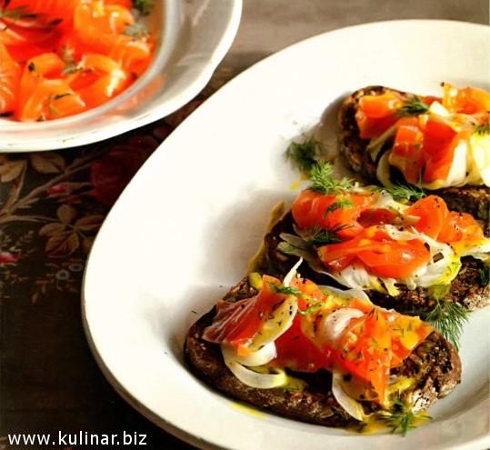 Рецепт с лососем