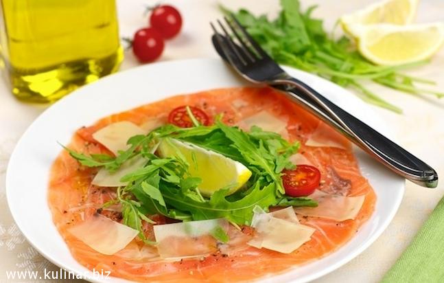 рецепт из красной рыбы