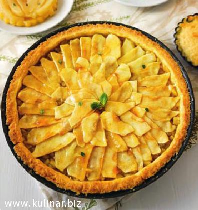 Яблочный тарт - кулинарный рецепт