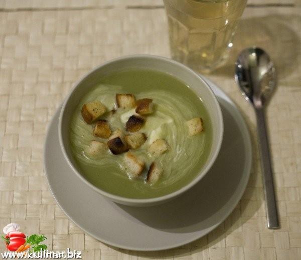 Зеленый суп - кулинарный рецепт