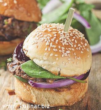 Мини-бургеры, кулинарный рецепт