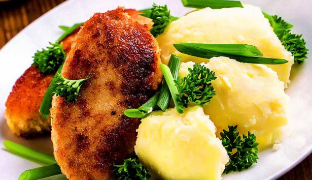 Котлеты с гарниром - кулинарный рецепт
