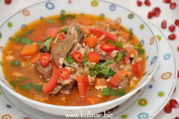 Рецепт супа харчо