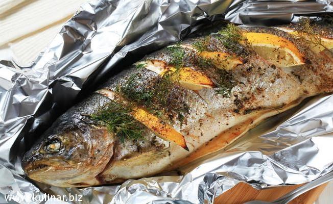 рыба в фольге - рецепт