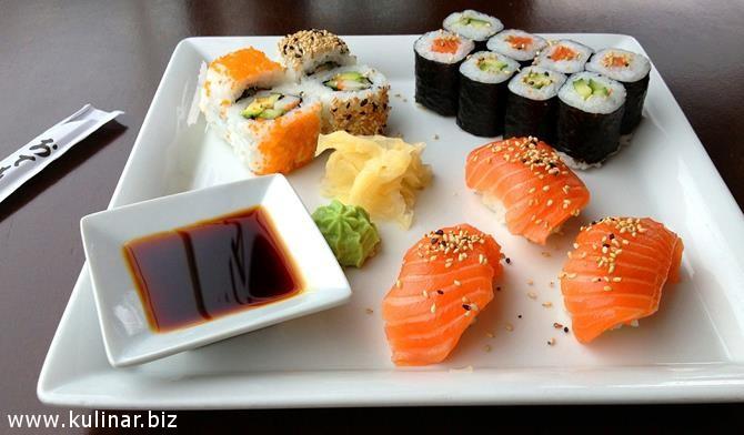 Готовим суши дома - рецепт